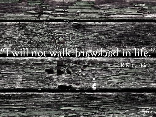 I Will Not Walk Backward