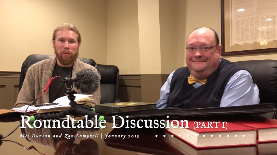 Roundtable Discussion With Mel Duncan