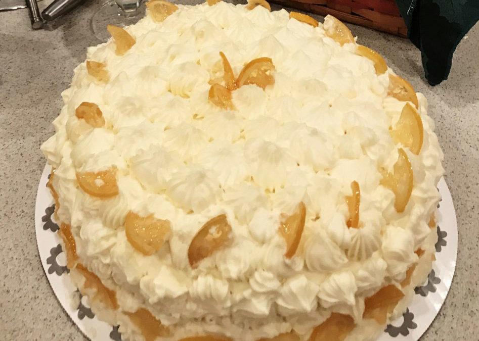 "Sam's ""Welcome Back"" Cake"