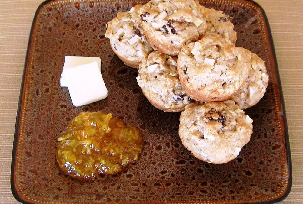 Arwen's Apple Wheat Muffins