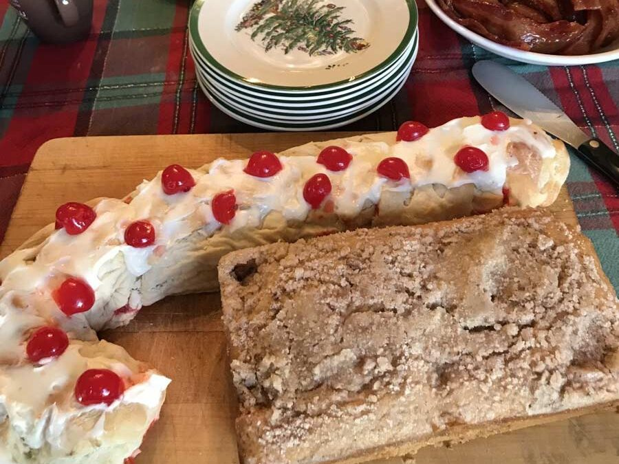Candy Cane Bread